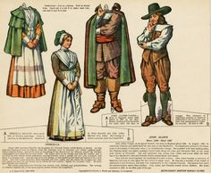 Paper Dolls colonial America