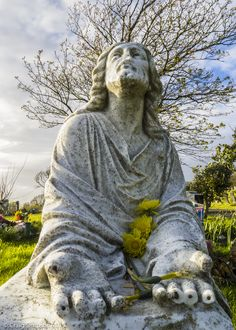 Thorncliffe Cemetery, Barrow in Furness, Cumbria, England. 3rd May 2015.