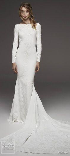 Simple Wedding Dresses Inspired by Meghan Markle - Pronovias