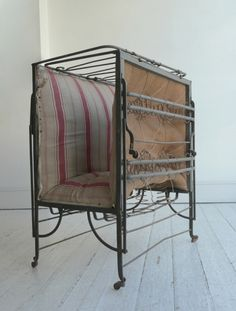 French 19th Century Folding Bed; Howe London