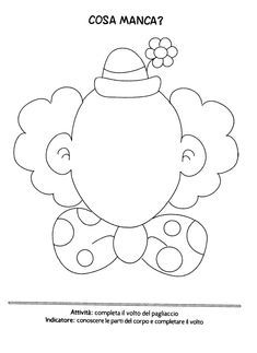The teacher Linda: Carnival cards for coloring Clown Crafts, Circus Crafts, Carnival Crafts, Kids Carnival, Carnival Themes, Circus Theme, Circus Party, Free Coloring, Coloring Pages