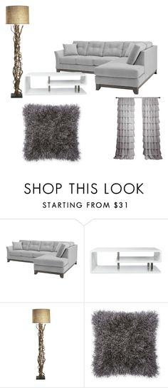 """Bez naslova #46"" by ella-tursunovic ❤ liked on Polyvore featuring interior, interiors, interior design, home, home decor, interior decorating and Furniture of America"