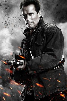 """Trench in """"The Expendables 2"""", 2012"""