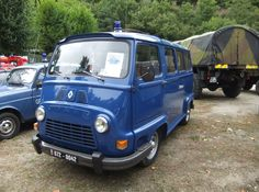 1969-1980 Renault Estafette - Gendarmerie Nationale - France