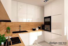 GRAZIOSO APARTAMENTY - Średnia zamknięta kuchnia w kształcie litery u, styl nowoczesny - zdjęcie od design me too