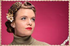 """RETRO HAIRSTYLE SHOOTING"" Spring-Summer 2014  Model: Elena Maria Tamburrini Hairstyle: Ginger Bread Head Accessories & Makeup: Il mondo di LaLà Photography: Marco Tamburrini Photographer"