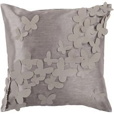 Decor 140 Rolle Decorative Pillow - 18'' x 18'', Grey