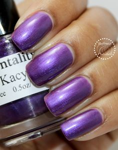 Mentality-Kacy swatch by Refined and Polished. Thanks!