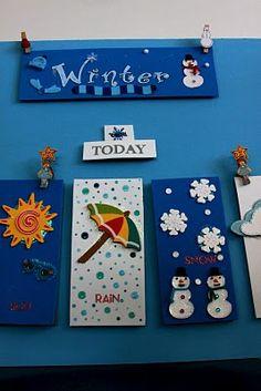 Family Sized Fun: DIY weather board!