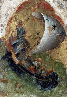 Saint Nicholas will help. Religious Images, Religious Icons, Religious Art, Byzantine Icons, Byzantine Art, Christian Artwork, Biblical Art, Saint Nicholas, Art Icon