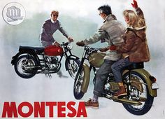 Montesa turns The logo and the bikes - News - Moto.it- Montesa compie 75 anni. Il logo e le moto – News – Moto.it Montesa turns The logo and the bikes – News – Moto.it - Vintage Bikes, Vintage Motorcycles, Vintage Ads, Vintage Posters, Motos Honda, Honda Motorcycles, Honda Cb, Suzuki Van Van, Motos Trial
