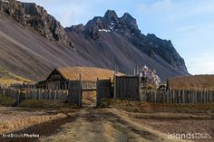 Viking village in #Iceland . . . . . . . .  #Travel with http://www.islandsmyndir.is in Iceland - ALL year round.  . . . . . . . . .  © 2014 Photos available at http://www.IceStockPhotos.com