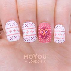 Pretty Pink Print for our Cyber Monday Mani! Not long left of our 20% discount, just enter WOW20 at the checkout to get yours! ⏰ Products Used: Geek 01/ Festive 35/36 // Nail polish: White Knight, Classic Lipstick, Pumpkin & Sangria.