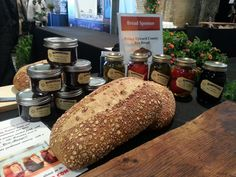 Stone Mill Bread is made from Ontario Red Fife Flour and Rye they grow and mill themselves.