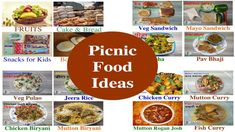 Picnic Food Ideas Indian | पिकनिक फ़ूड आइडियाज | Large Groups | Kids | Co...