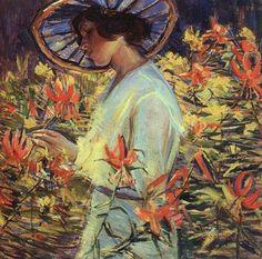 In the Garden, Donna Schuster (1883-1953)