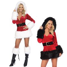 Sexy Mrs. Santa Claus