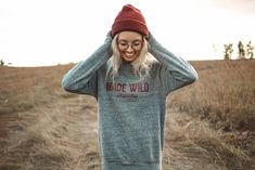 The Parks Apparel presents our Made Wild Unisex Sponge Fleece Raglan Sweatshirt. You weren't born to attend a luxurious gala in high heels and red-wine lipstick. The fastest cars are mediocre at best,