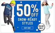50% Off Select Winter Styles at Crazy8 Offer details: Web Exclusive – 50% Off Select Winter Styles at Crazy8. Don't forget free shipping on order over $75! CLICK HERE to grab this deal Thank you for supporting Hip Homeschool Moms. Below are other Amazon deals you might be interested in.#affiliatelinks Looking for more deal alerts? …
