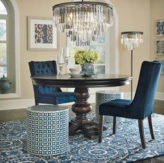 Home Trends and Design.  Graceful Glamour.