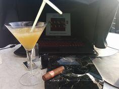 Cognac Sour and Lusitania.