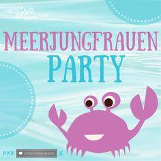 schoenstebastelzeit - nähen. häkeln. glücklichsein. : Let's have a Meerjungfrauenparty! (3) #spiele