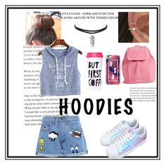 """Hoodies"" by cephora4k ❤ liked on Polyvore featuring WithChic, Casetify, ban.do, Vera Bradley, Paul & Joe Sister and Hoodies"