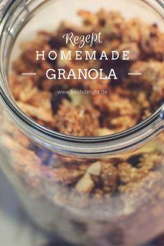 Leckeres, einfaches Granola, ohne Zucker selber machen