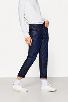 EDC BY ESPRIT Ankle-Jeans aus Organic Cotton für 39,99€. Ankle-Jeans aus Organic Cotton, Lässig-cooler Boyfriend-Style in cleaner bei OTTO