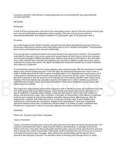 Article Summary Sample Article Summary Template In Research Article