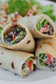 Vegetarian Burrito. This looks delicious!!!