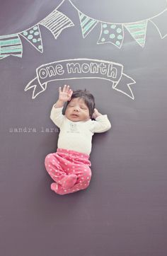 One Month Old Baby Photo, with milestone updates | Baby Ideas ...