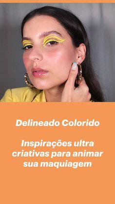 Makeup Videos, Makeup Tips, Eye Makeup, Eyeliner Looks, Make Up Art, Creative Makeup, Nova, Hair Cuts, Eyeshadow