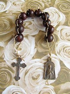St. Therese sacrifice beads- perfect for Lent