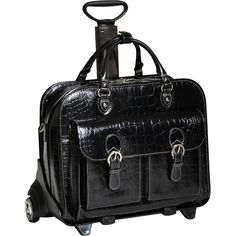 Siamod Monterosso Collection San Martino Ladies Wheeled Laptop Case -  eBags.com. Rolling Laptop CaseRolling BagLeather ... 8e18b9b9c8f30