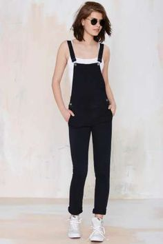 Neuw Sister Ray Overalls at Nasty Gal Mode Outfits, Fall Outfits, Casual Outfits, Fashion Outfits, Womens Fashion, Overalls Fashion, Jumpsuit Outfit, Denim Jumpsuit, Dungarees