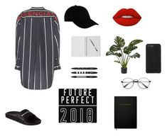 """""""plant lover"""" by stolbova98 ❤ liked on Polyvore featuring Balenciaga, STONE ISLAND, Lime Crime and Katie Loxton"""