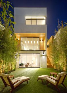 Extraordinary Glamour of the N° 1864 Greenwich in San Francisco, California Casa Duplex, Arquitetura E Design, Casa Linda, Roof Top, Home Architecture, Modern House Design, Home Design, Home Interior Design, Simple House Design