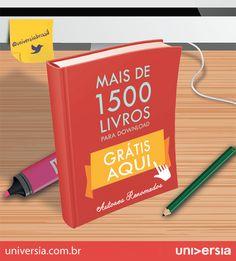 Alimente seu vício por livros de forma gratuita: mais de 1.500 livros grátis