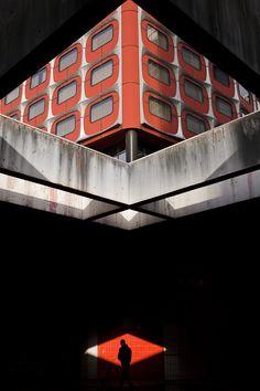 70's architecture in Paris by Samuel GAZE