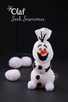 Olaf sock snoman