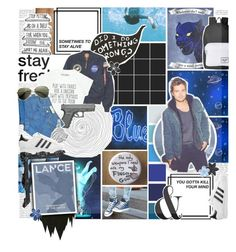 """It is hard to walk away from the best of day, but if it has to end I am glad you have been my friend, in the time of our lives. // Lance Mcclain // Blue Paladin // Voltron Legendary Defender"" by saffire9975 ❤ liked on Polyvore featuring Burke Decor, Herschel Supply Co., Sebastian Professional, Alpha Industries, SHAN, Levi's, adidas Originals, Citizens of Humanity and ASOS"