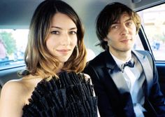"""Sofia Coppola and her husband (frontman of the awesome band """"Phoenix""""), Thomas Mars"""