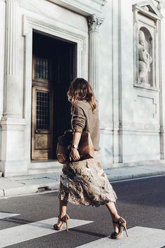 Style urbain Ralph Lauren : Sara Escudero de Collage Vintage porte un look de la Ralph Lauren Collection Automne 2015.