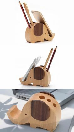 Teds Woodworking® – Woodworking Plans & Projects With Videos – Custom Carpentry — TedsWoodworking Wooden Elephant Shaped Pen Holder Mobile Display Stand Woodworking Projects Plans, Teds Woodworking, Woodworking Techniques, Woodworking Furniture, Woodworking Machinery, Woodworking Workshop, Woodworking Supplies, Woodworking Classes, Carpentry Projects