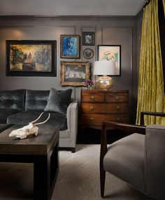 Stephen Young Design | Gold Coast, Chicago | Living Room | Photography by Daniel Kelleghan