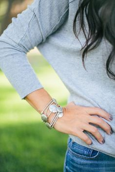 Silver Wrap Bracelet or Necklace   The Magnolia Market