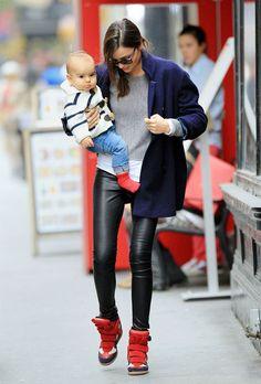 Miranda Kerr in Isabel Marrant sneakers