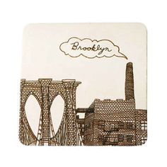 Brooklyn Coasters Set of 10 - New York Patterns - Patterns & Collections