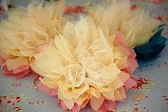 Pompom de papel | Macetes de Mãe